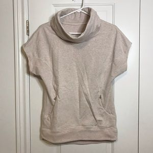 LULULEMON Rest Day Pullover Short Sleeve Sweater